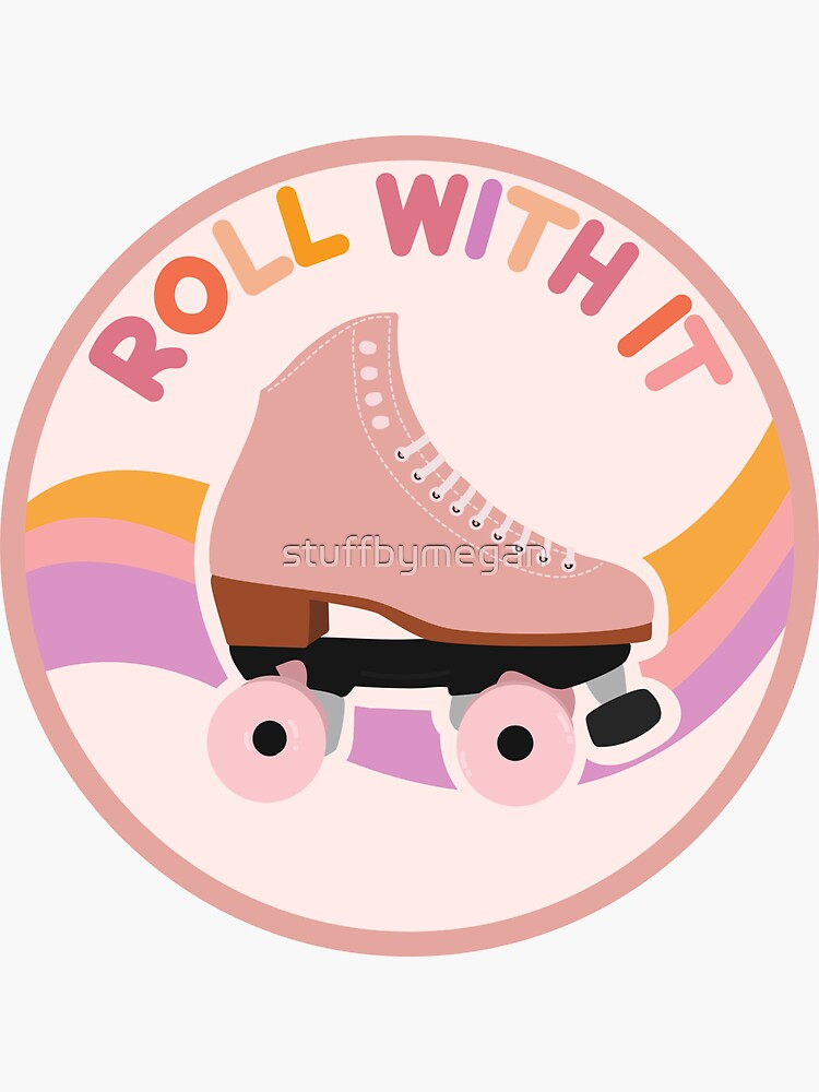 Roll With It Rollerskate by stuffbymegan