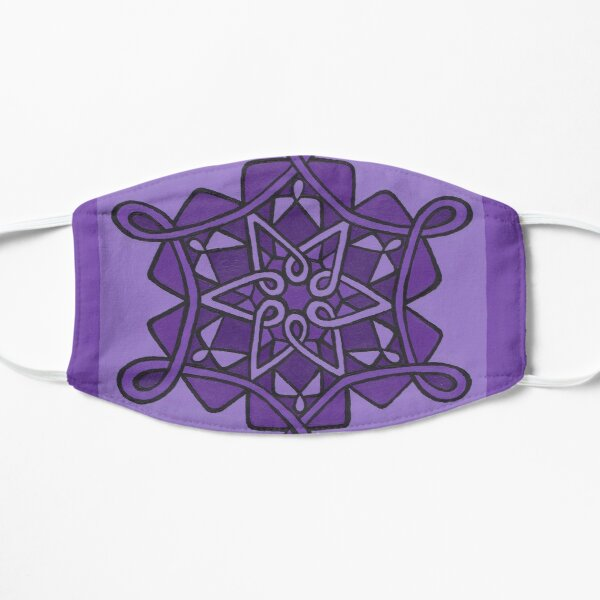 Dottie Purple Scale Mask
