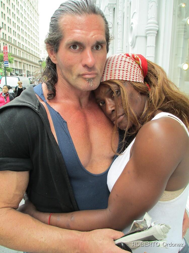 interesting couple by Robert Ordonez