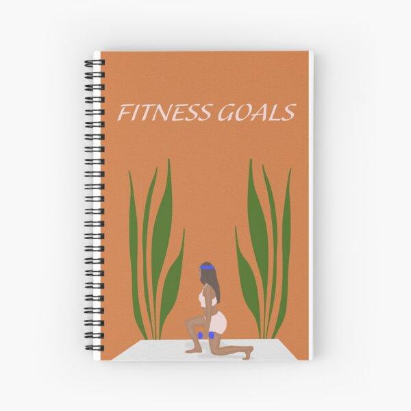 Fitness Goals Notebook Spiral Notebook