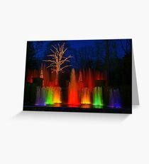 The Colors of Christmas Greeting Card