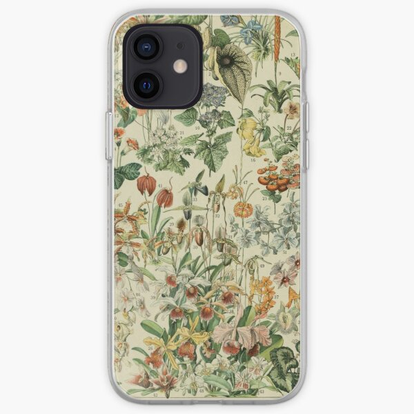 vintage french fleurs poster iPhone Soft Case