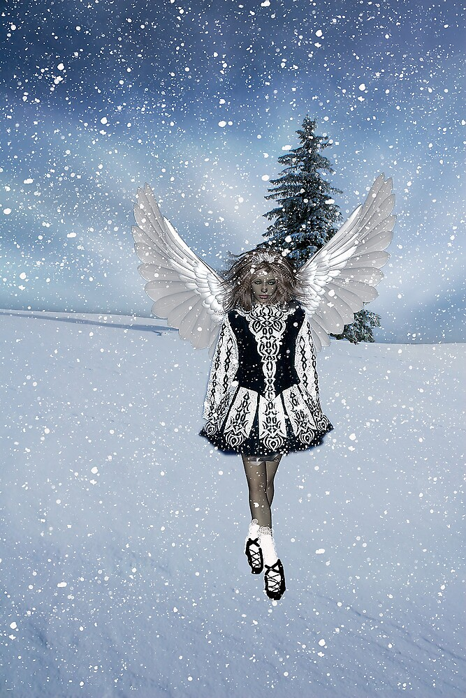 Irish Christmas Angel by Kristie Lawrence