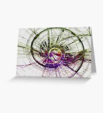 """""""Electron Beam Dark Matter 2""""© Greeting Card"""
