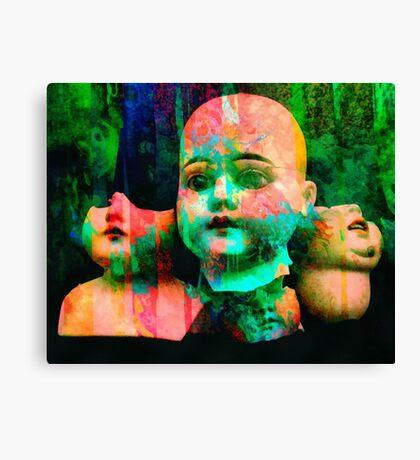Childhood Surrender Canvas Print