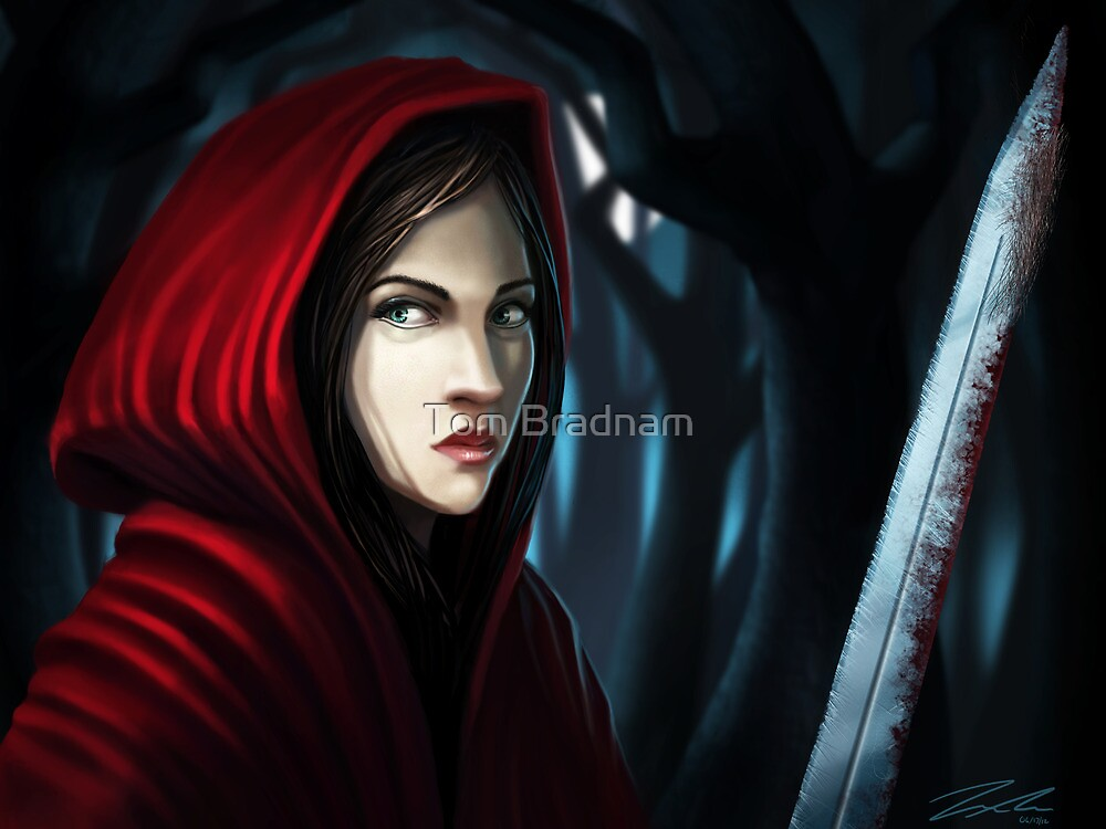 Red Riding Hood (Not so little any more) by Tom Bradnam
