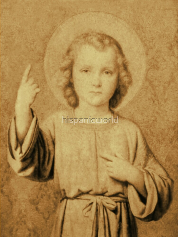 Child Jesus According to the Visions of St Therese of Lisieux  by hispanicworld
