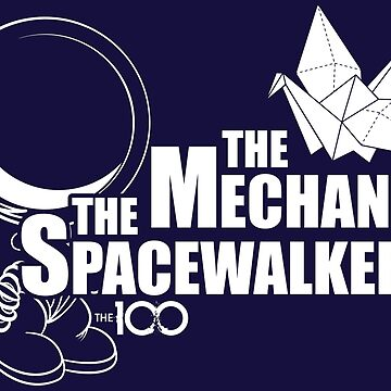 The 100 - The Mechanic & The Spacewalker by BadCatDesigns
