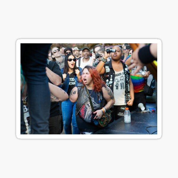 Music Festival in Tompkins Square Park Sticker