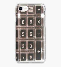 Calculator Skin iPhone Case/Skin