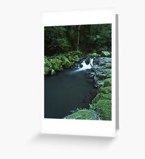 """Cunungra Creek"" ∞ Lamington National Park, QLD - Australia Greeting Card"