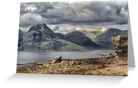 Elgol Isle of Skye by Fe Messenger