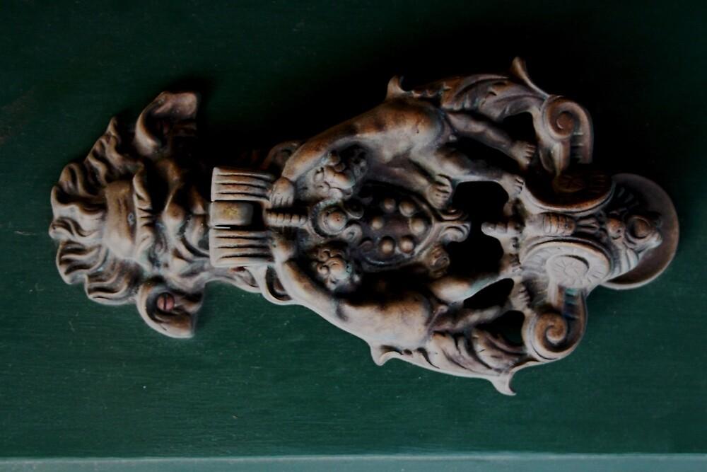 Maltese Door Knockers by DRDJ