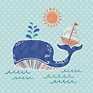 Sail on a Whale Tail by Janet Broxon