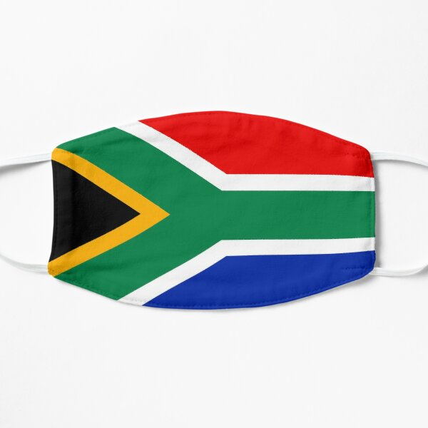 South African Flag Face Mask RSA South Africa Flat Mask