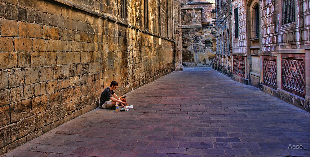 Barcelona by Aase