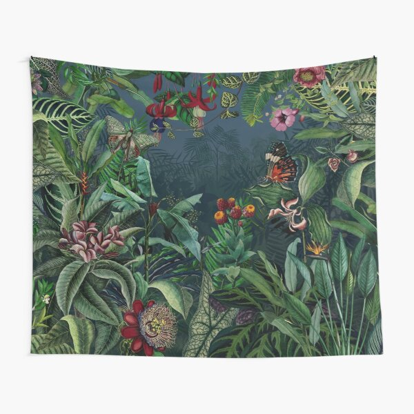 Midnight Rainforest I Tapestry