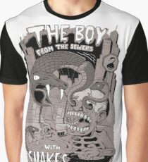 Boy from the sewer with snakes for eyes Graphic T-Shirt