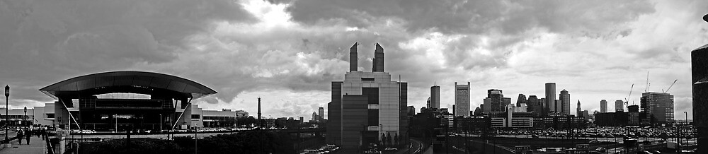 Bston Convention Centre skyline by bartfrancois