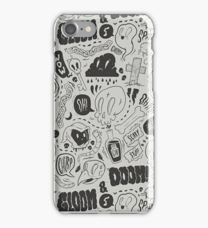 Gloom & Doom pattern iPhone Case/Skin
