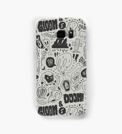 Gloom & Doom pattern Samsung Galaxy Case/Skin