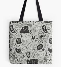 Gloom & Doom pattern Tote Bag