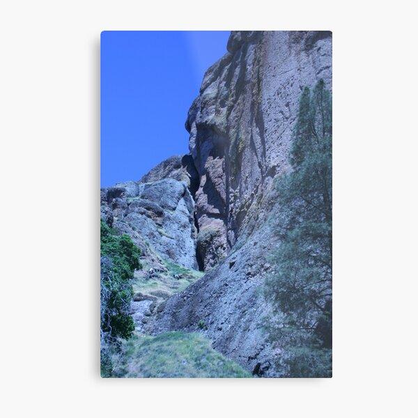 Green and Rock at Pinnacles National Monument  Metal Print