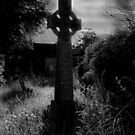Spooky Celtic cross  by thermosoflask