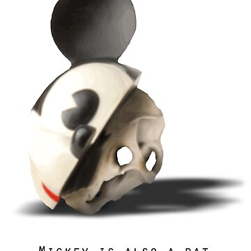 Mickey is also a rat.. by Gelato