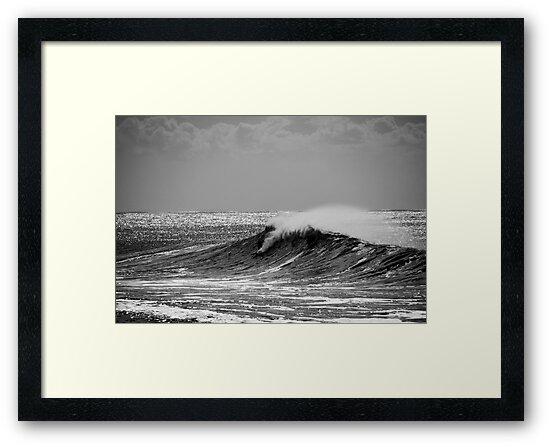 Big Wave Surfing Burleigh Heads by Noel Elliot