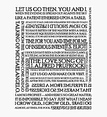 The Love Song of J. Alfred Prufrock Photographic Print