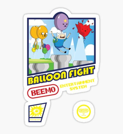 Adventure in Balloon Fighting Sticker