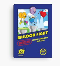 Adventure in Balloon Fighting Canvas Print