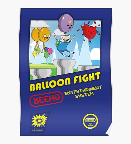 Adventure in Balloon Fighting Poster