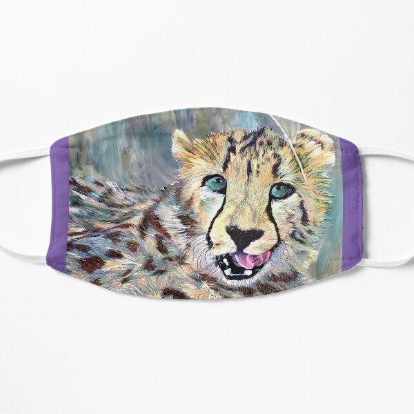 Playful Cheetag Sticker Mask