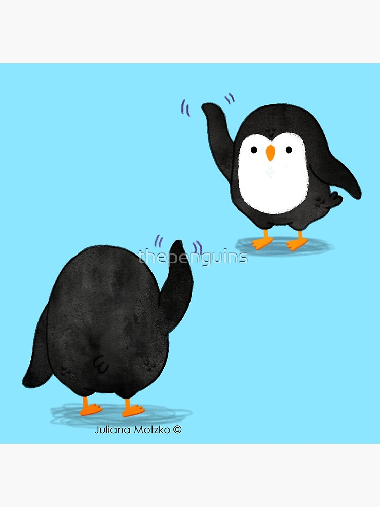 Penguins Waving by thepenguins