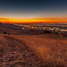 Sunset over Pretoria by Rudi Venter