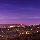 Blue hour over Pretoria by Rudi Venter
