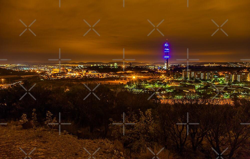 Quot Cloudy Night Sky Over Pretoria Quot By Rudi Venter Redbubble