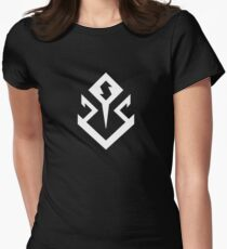 Smallville Doomsday Symbol Womens Fitted T-Shirt