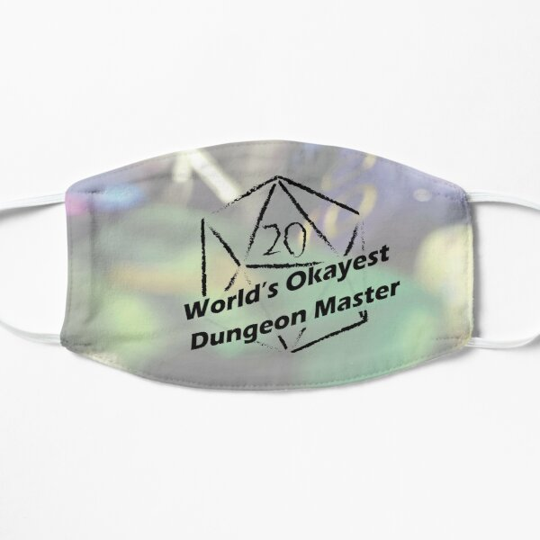 World's Okayest Dungeon Master Small Mask