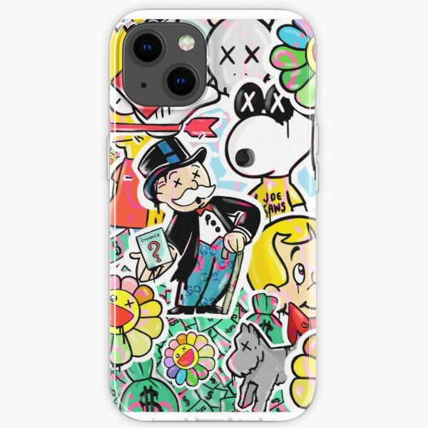 Inspired By The Hype Generation Monopoly Illustration iPhone Soft Case