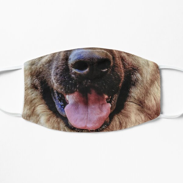 German Shepherd face mask funny  dog mouth  Mask