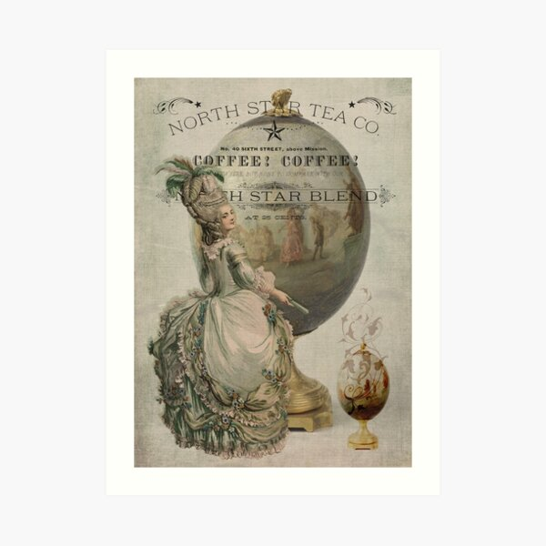 Regency Rapture Art Print