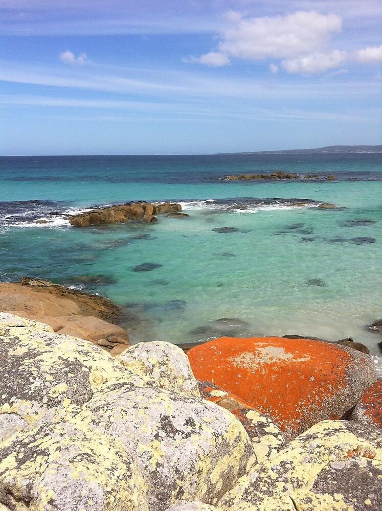 Bay of Fires, Tasmania. by Liam Nutting