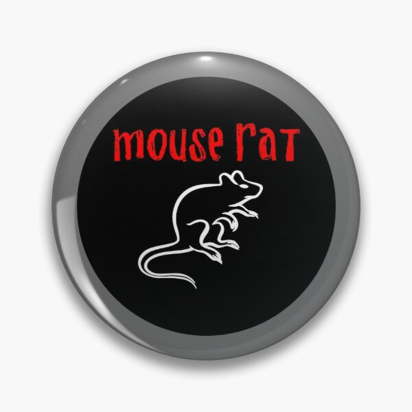 Mouse Rat Pin