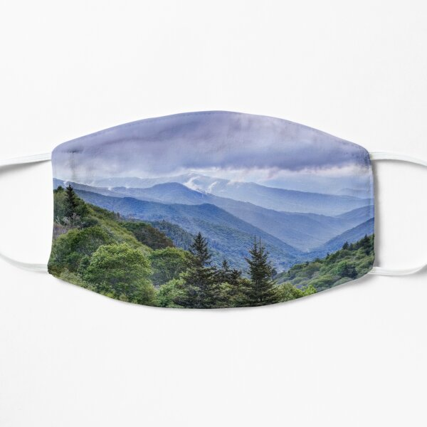 The Mountains Of Great Smoky Mountains National Park  Mask