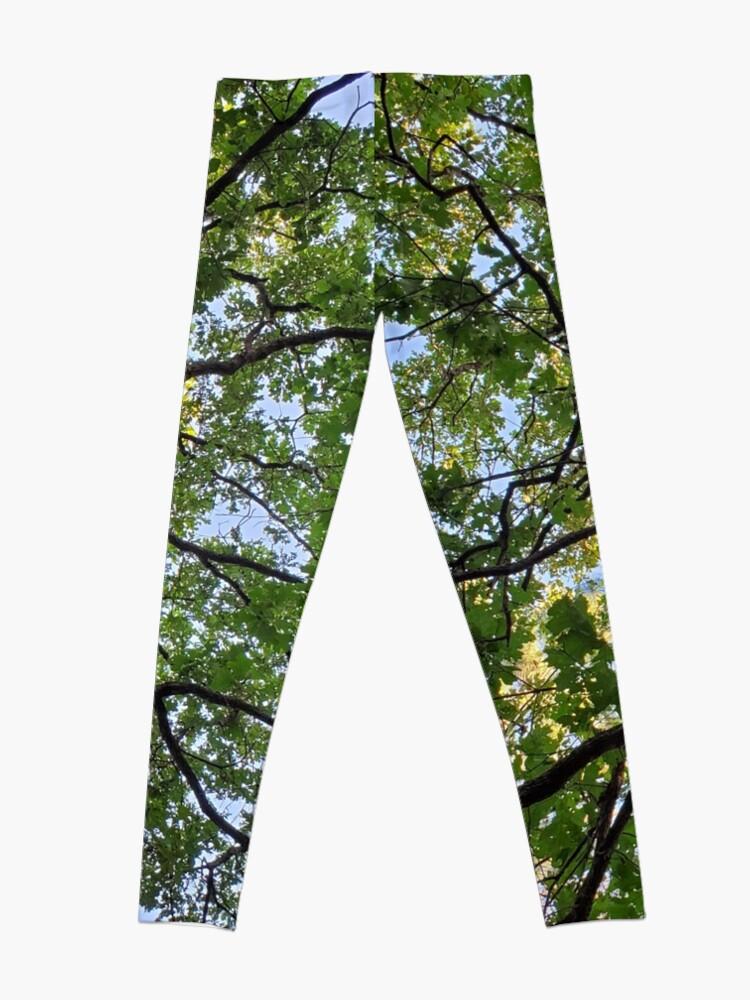 Alternate view of Oak tree Classy Camo Leggings