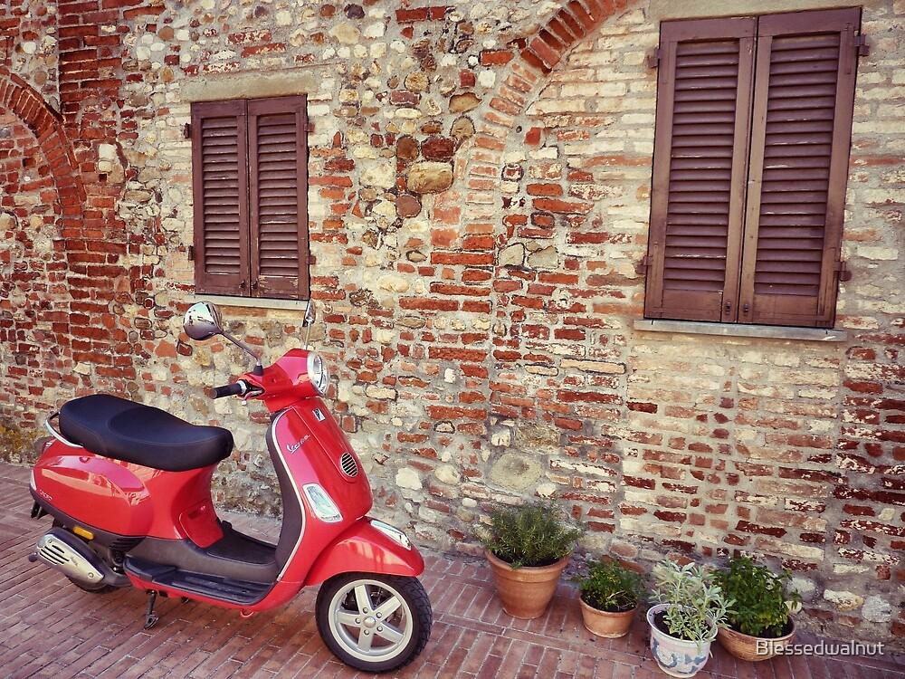 Italian Vespa by Blessedwalnut