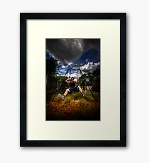 Swinger Framed Print